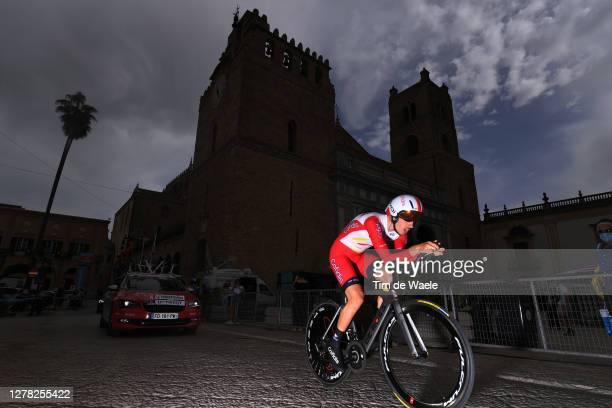 Mathias Le Turnier of France and Team Cofidis Solutions Credits / Duomo di Monreale / Monte Caputo / Cathedral / during the 103rd Giro d'Italia 2020,...