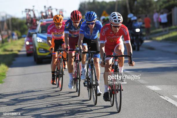Mathias Le Turnier of France and Team Cofidis Solutions Credits / Alexander Foliforov of Russia and Team GazpromRusvelo / Michal Paluta of Poland and...