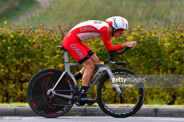 Mathias Le Turnier of France and Team Cofidis Solutions Credits / during the 103rd Giro d'Italia 2020 Stage 14 a 341km individual Time Trial from...
