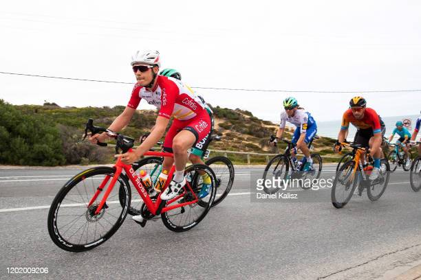 Mathias Le Turnier of France Team Cofidis Solutions Credits / during the 22nd Santos Tour Down Under 2020, Stage 6 a 151,5km stage from McLaren Vale...