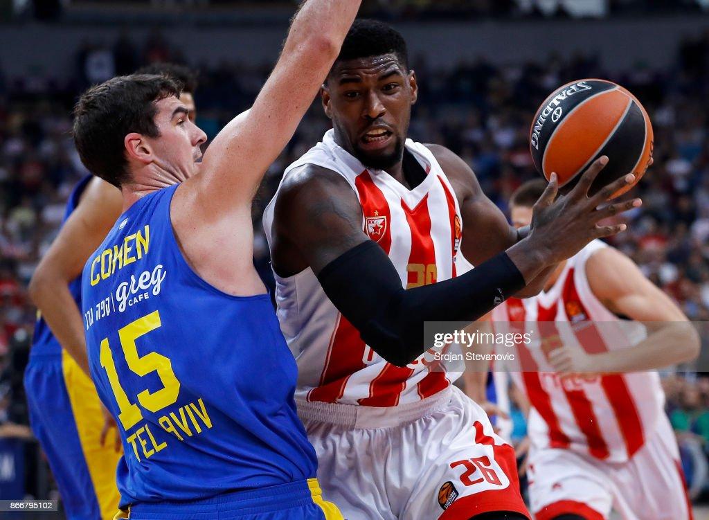 Crvena Zvezda mts Belgrade v Maccabi Fox Tel Aviv - Turkish Airlines EuroLeague