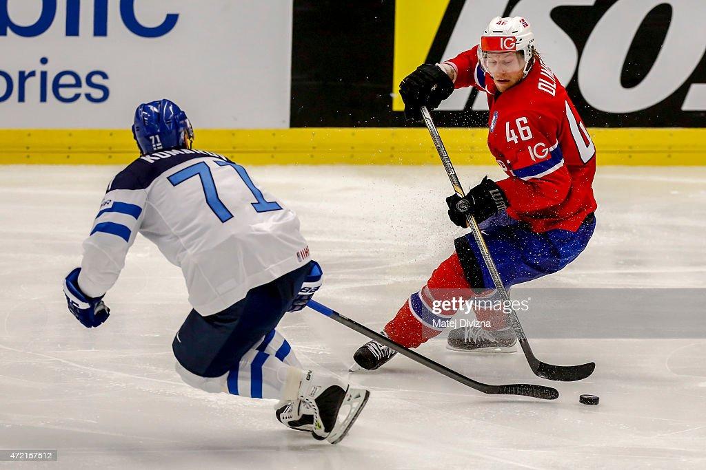 Norway v Finland - 2015 IIHF Ice Hockey World Championship