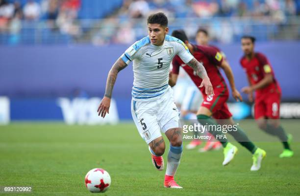 Mathias Olivera of Uruguay during the FIFA U20 World Cup Korea Republic 2017 Quarter Final match between Portugal and Uruguay at Daejeon World Cup...