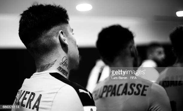 Mathias Olivera of Uruguay is seen in the tunnel prior to the FIFA U20 World Cup Korea Republic 2017 group D match between Italy and Uruguay at Suwon...