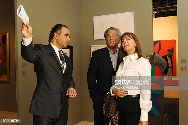 Mathias Rastorfer Micky Arison and Madeleine Arison attend GALERIE GMURZYNSKA at Art Basel Miami Beach 2008 at Miami Beach Convention Center on...