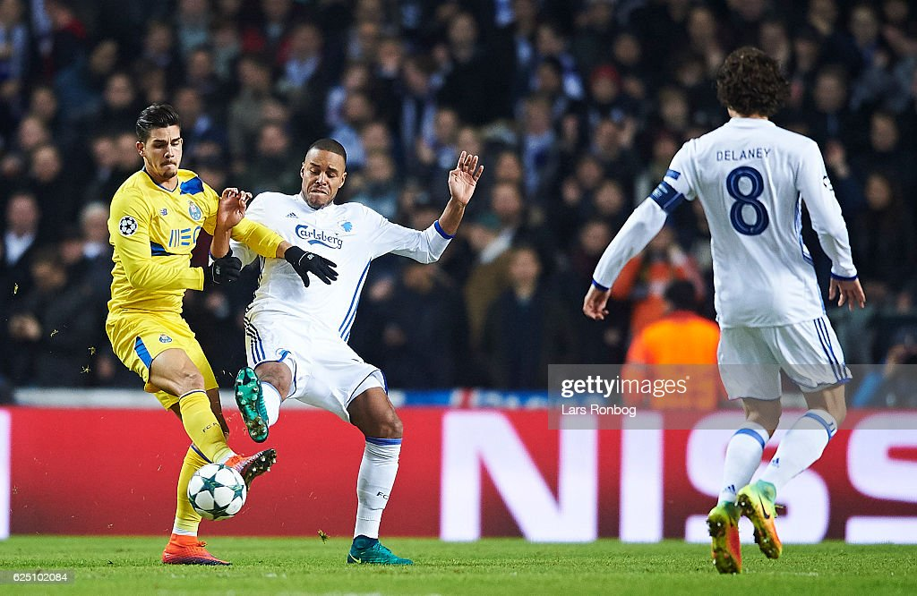 FC Copenhagen vs FC Porto - UEFA Champions League : News Photo