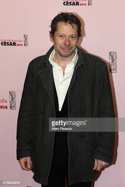 Mathieu Amalric arrives for the 39th Cesar Film Awards 2014 at Theatre du Chatelet on February 28 2014 in Paris France