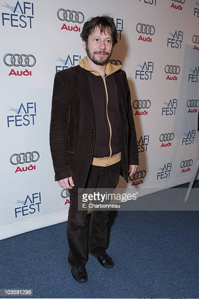 """Mathieu Amalric at the Los Angeles Premiere of Miramax """"The Diving Bell and The Butterfly"""" at the ArcLight Theatre on November 8, 2007 in Los..."""