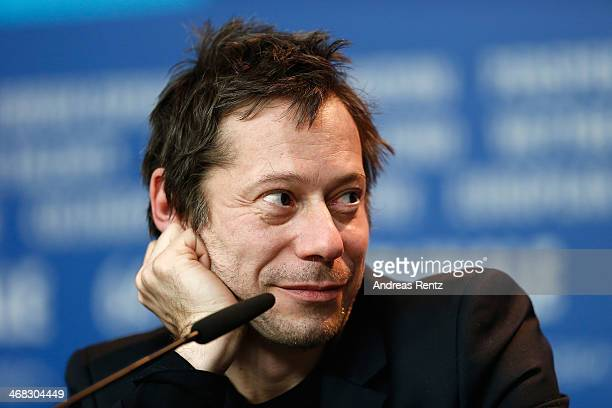 Mathieu Amalric attends the 'If You Don't I Will' press conference during 64th Berlinale International Film Festival at Grand Hyatt Hotel on February...