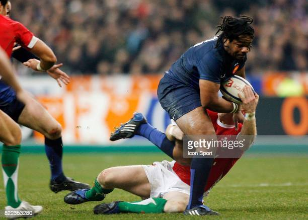 Mathieu BASTAREAUD France / Pays de Galles Tournoi de Six Nations