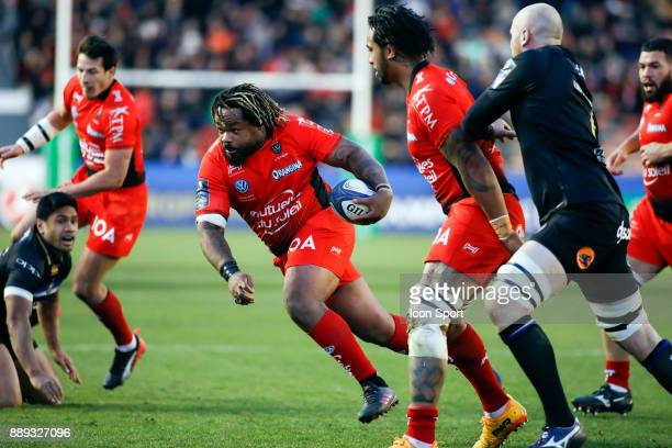 Mathieu Bastareaud of Toulon during the European Champions Cup match between RC Toulon and Bath on December 9 2017 in Toulon France