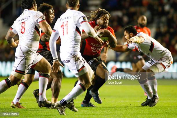 Mathieu Bastareaud of Toulon during the Top 14 match between Toulon and Lyon OU on December 2 2017 in Toulon France