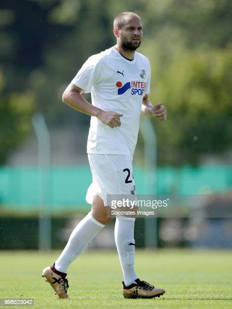 Mathieu Bodmer of Amiens SC during the Club Friendly match between Amiens SC v UNFP FC at the Centre Sportif Du Touquet on July 13 2018 in Le Touquet...