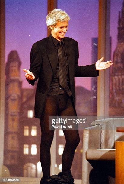 "Mathieu Carriere, SAT .1, ""H a r a l d S c h m i d t -; Show"", Köln, Männer-Strumpfhose, Promi,"