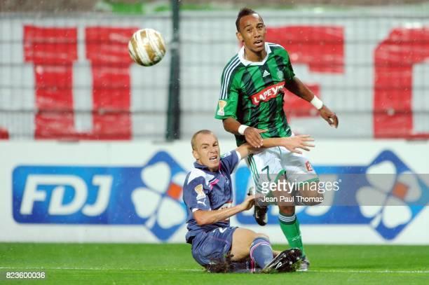 Mathieu CHALME Pierre Emerick AUBAMEYANG Saint Etienne / Bordeaux 16e finale Coupe de la Ligue