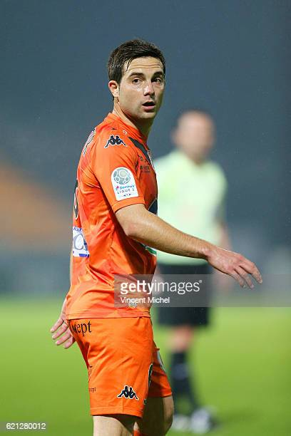 Mathieu Coutadeur of Laval during the Ligue 2 match between Stade Lavallois and Le Havre AC on November 4 2016 in Laval France