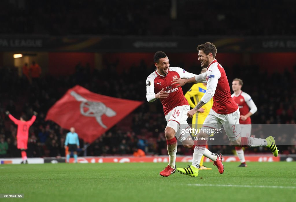 Arsenal FC v BATE Borisov - UEFA Europa League