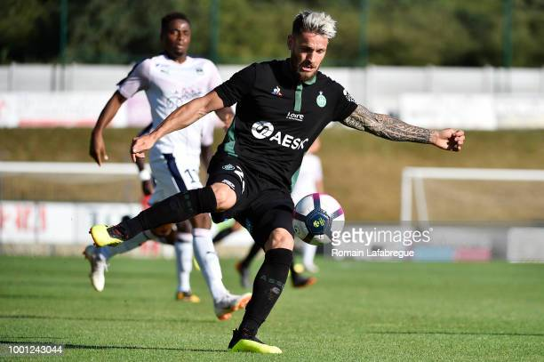 Lois Diony of SaintEtienne during the Friendly match between Saint Etienne and Bordeaux on July 18 2018 in AndrezieuxBoutheon France