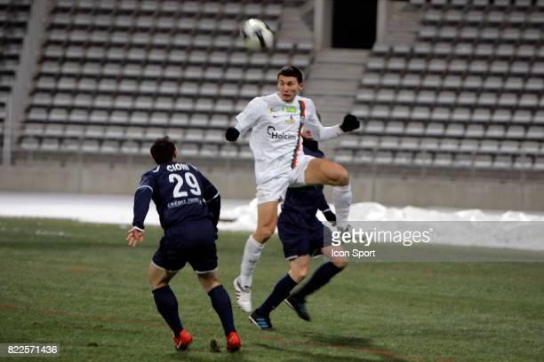 Mathieu DUHAMEL Paris FC / Creteil 19eme journee de National Stade Charlety