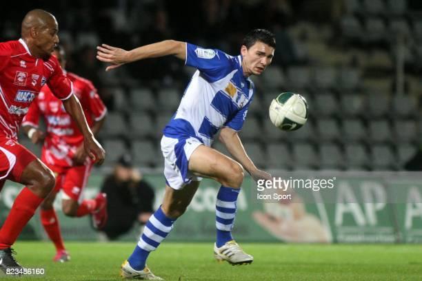 Mathieu DUHAMEL Nimes / Troyes 15eme journee de ligue 2