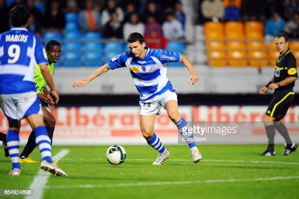 Mathieu DUHAMEL Troyes / Chateauroux 8eme journee de Ligue 2 Stade de l'Aube Troyes