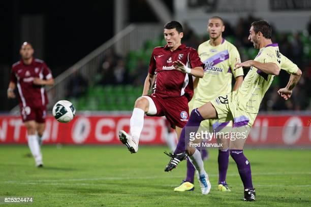 Mathieu DUHAMEL / Fabien BARILLON Metz / Istres 9e journee Ligue 2