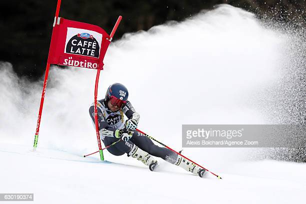 Mathieu Faivre of France competes during the Audi FIS Alpine Ski World Cup Men's Giant Slalom on December 18 2016 in Alta Badia Italy