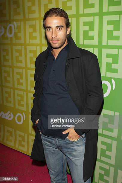 Mathieu Flamini attends Fendi 'O' party For Pixie Lott at the VIP ROOM Theater on October 6 2009 in Paris France
