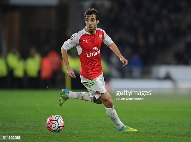 Mathieu Flamini of Arsenal during the Emirates FA Cup 5th Round replay between Hull City and Arsenal at the KC Stadium on March 8 2016 in Hull England