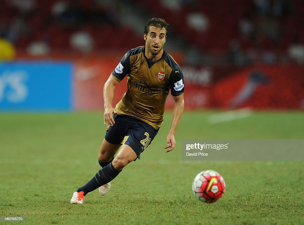 Arsenal v Singapore XI: Barclays Asia Trophy : News Photo