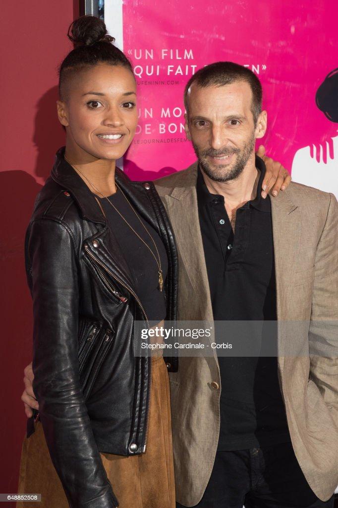 """""""De Plus Belle"""" Paris Premiere At Cinema Publicis : Fotografia de notícias"""