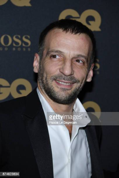 Mathieu Kassovitz attends GQ Men Of The Year Awards 2017 at Le Trianon on November 15 2017 in Paris France