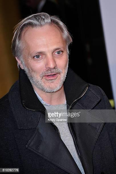 Mathieu Petit attends the La Vache Paris Premiere at Pathe Wepler on February 14 2016 in Paris France