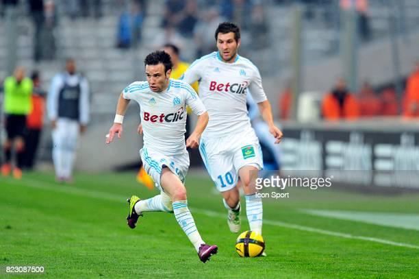 Mathieu VALBUENA / Andre Pierre GIGNAC Marseille / Nice Match en retard de la 32e journee Ligue 1