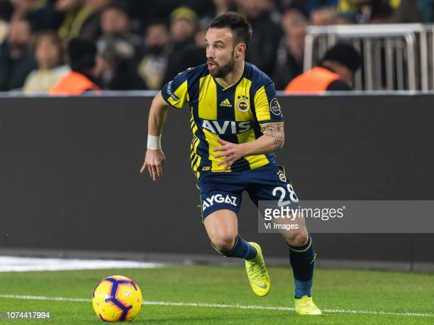 Mathieu Valbuena of Fenerbahce SK during the Turkish Spor Toto Super Lig match Fenerbahce AS and Buyuksehir Belediye Erzurumspor at the Sukru...