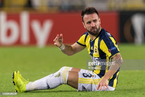 Mathieu Valbuena of Fenerbahce SK during the UEFA Europa League group D match between Fenerbahce AS and RSC Anderlecht at the Sukru Saracoglu Stadium...