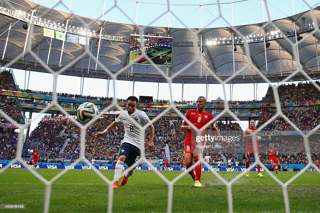 Switzerland v France: Group E - 2014 FIFA World Cup Brazil : News Photo