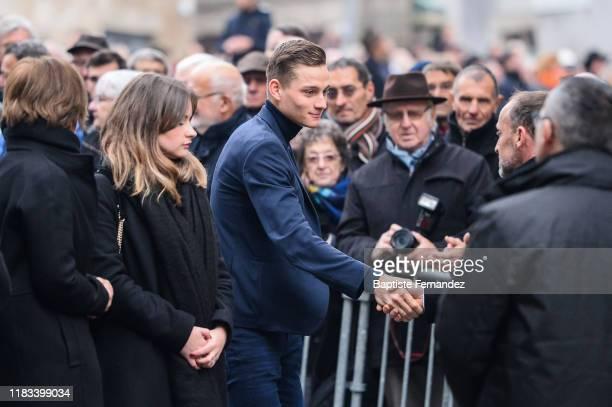 Mathieu VAN DER POEL during the Funeral of Raymond Poulidor on November 19 2019 in SaintLeonarddeNoblat France