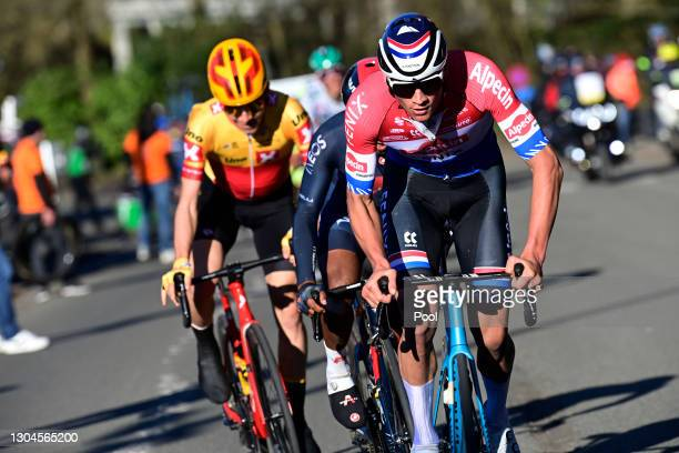 Mathieu Van Der Poel of Netherlands and Team Alpecin-Fenix during the 73rd Kuurne - Bruxelles - Kuurne 2021 a 197km race from Kuurne to Kuurne /...