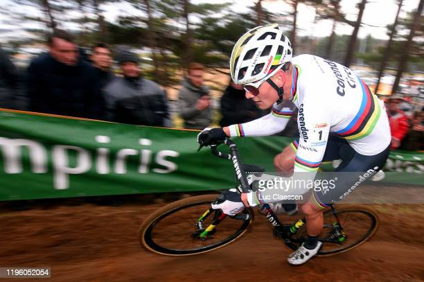 Mathieu Van Der Poel of The Netherlands and Team Corendon - Circus / during the 15th Heusden-Zolder World Cup 2019 / @UCI_CX / #TelenetUCICXWC / on...