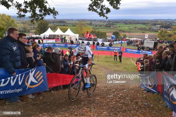 Mathieu Van Der Poel of The Netherlands and TeamCorendonCircus Kapellen / Landscape / during the 29th Koppenbergcross 2018 / DVV Verzekeringen Trofee...