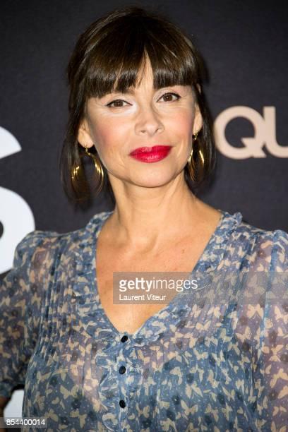 Mathilda May attends 'Le Sens De La Fete' Paris Premiere at Le Grand Rex on September 26 2017 in Paris France