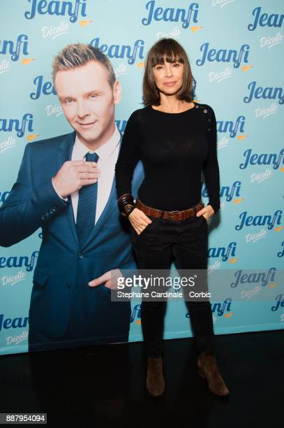 Mathilda May attends the show of at Jeanfi Janssens at L'Alhambra on December 7 2017 in Paris France