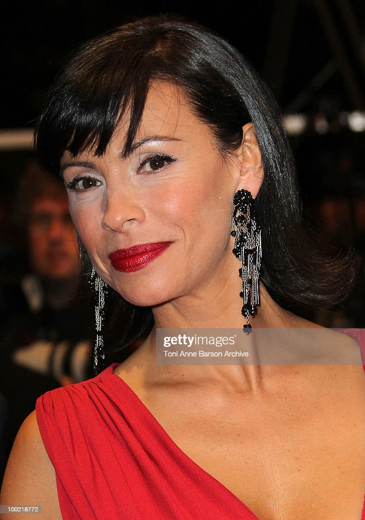 Mathilda May attends the 'Uncle Boonmee Who Can Recall His Past Lives' Premiere at the Palais des Festivals during the 63rd Annual International Cannes Film Festival on May 21, 2010 in Cannes, France.