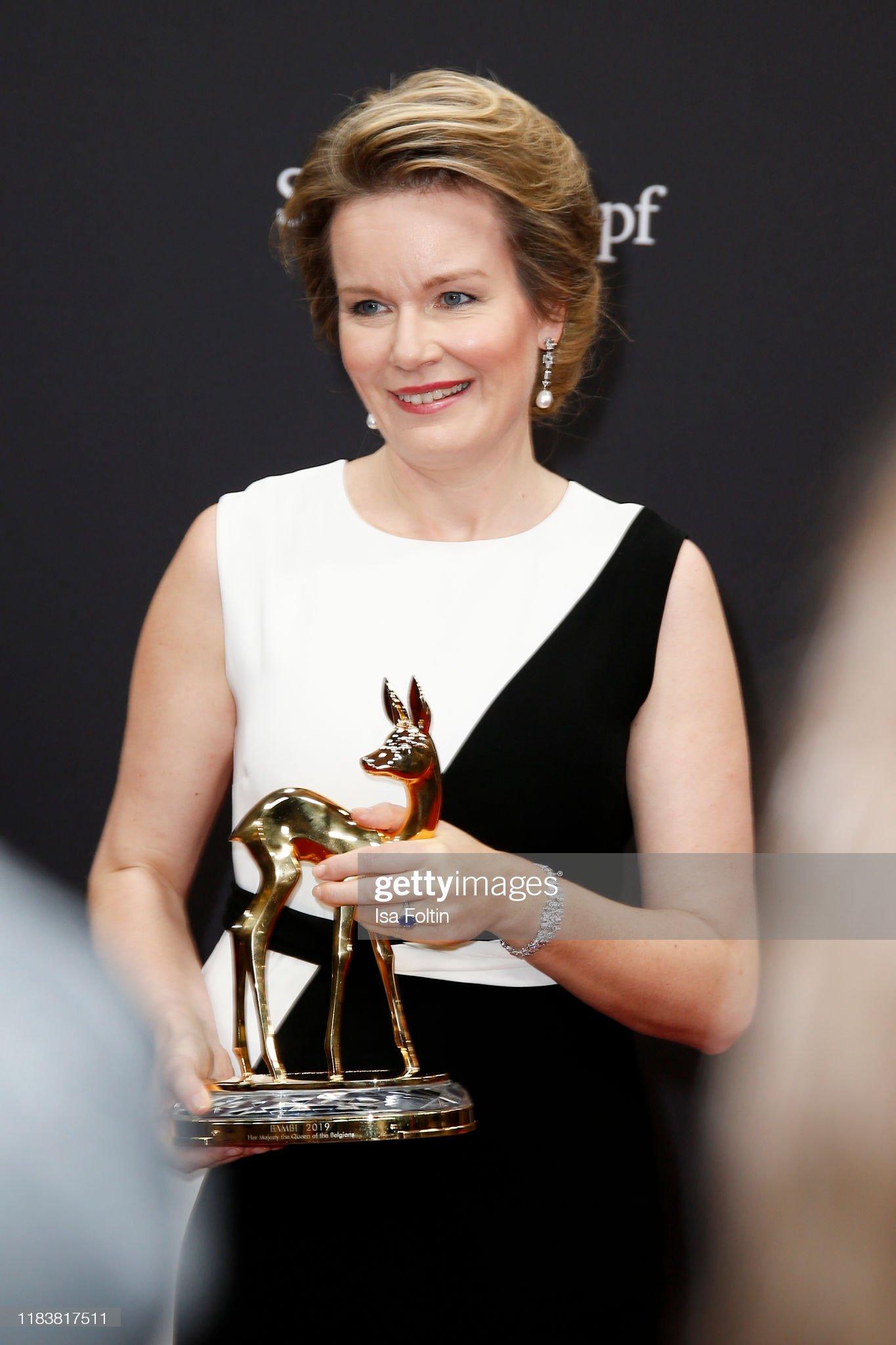 MADELEINE At Bambi Awards 2019 - Winners Board : News Photo