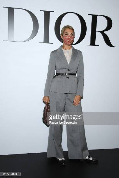 Mathilde Favier attends the Dior Womenswear Spring/Summer 2021 show as part of Paris Fashion Week on September 29, 2020 in Paris, France.