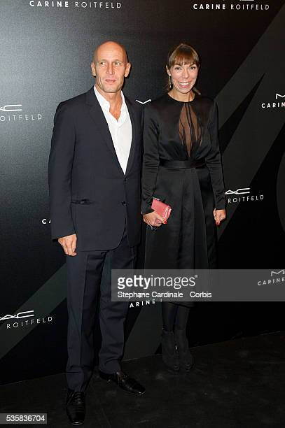 Mathilde Meyer and Anthony Meyer attend LE BAL hosted by MAC and Carine Roitfeld as part of Paris Fashion Week Spring / Summer 2013 at Hotel Salomon...