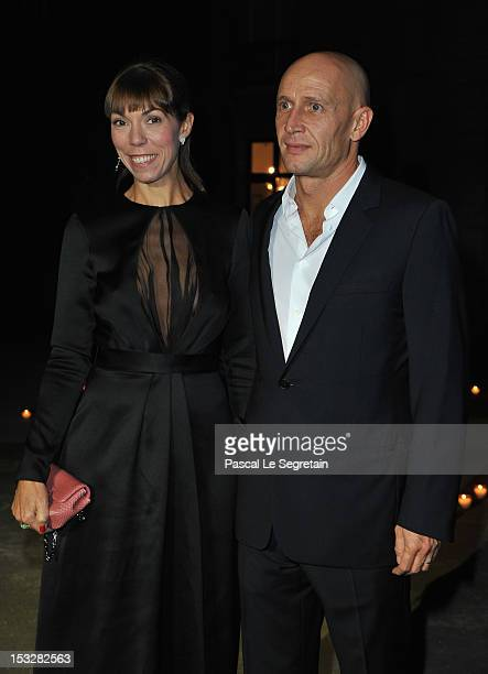 Mathilde Meyer and Anthony Meyer attends LE BAL hosted by MAC and Carine Roitfeld as part of Paris Fashion Week Spring / Summer 2013 at Hotel Salomon...