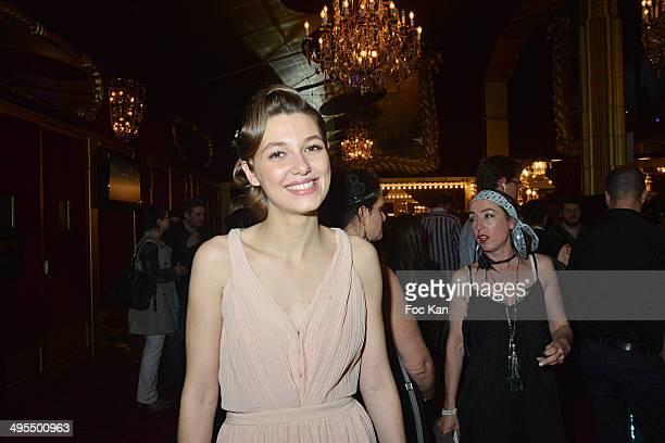Mathilde Ollivier attends the 'Mistinguett Reine des Annes Folles' At The Casino De Paris on June 3 2014 in Paris France
