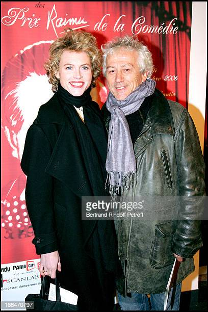 Mathilde Penin and Jean Luc Moreau First ceremony of the Raimu Awards of theatrical comedy and French cinema at the Espace Pierre Cardin in Paris